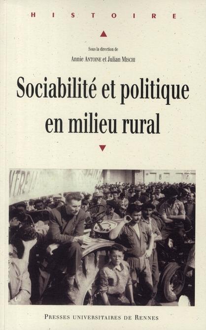 Sociabilite et politique en milieu rural