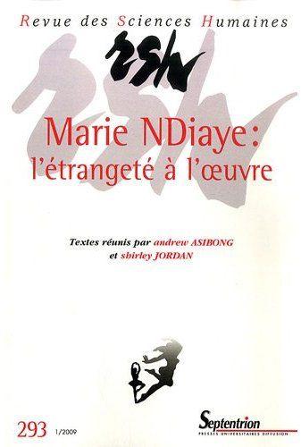 REVUE DES SCIENCES HUMAINES ; Marie Ndiaye
