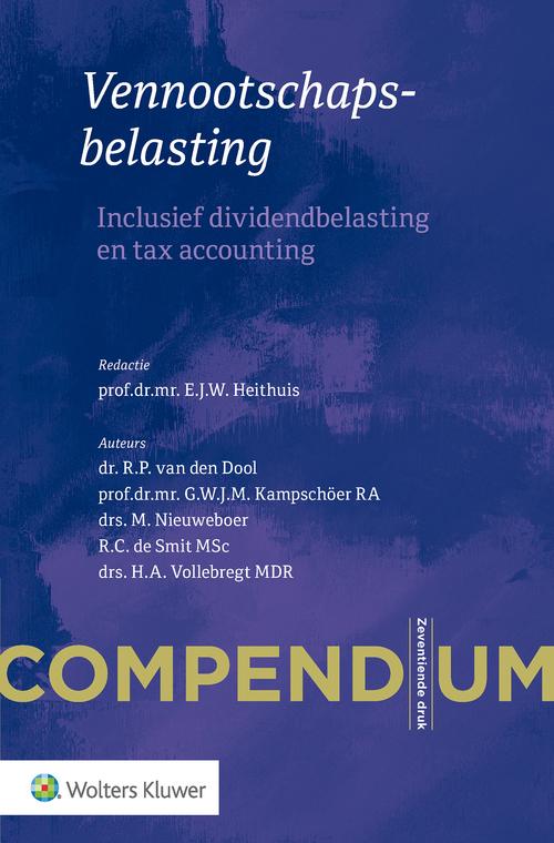 Compendium vennootschapsbelasting