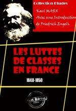 Vente EBooks : Les luttes de classes en France (1848-1850)  - Karl MARX - Friedrich Engels