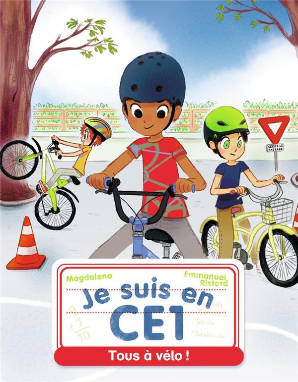 Je suis en CE1 ; tous à vélo !