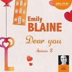 Vente AudioBook : Dear you - saison 2  - Emily Blaine