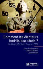 Vente Livre Numérique : Comment les électeurs font-ils leur choix ?  - Bruno Cautrès