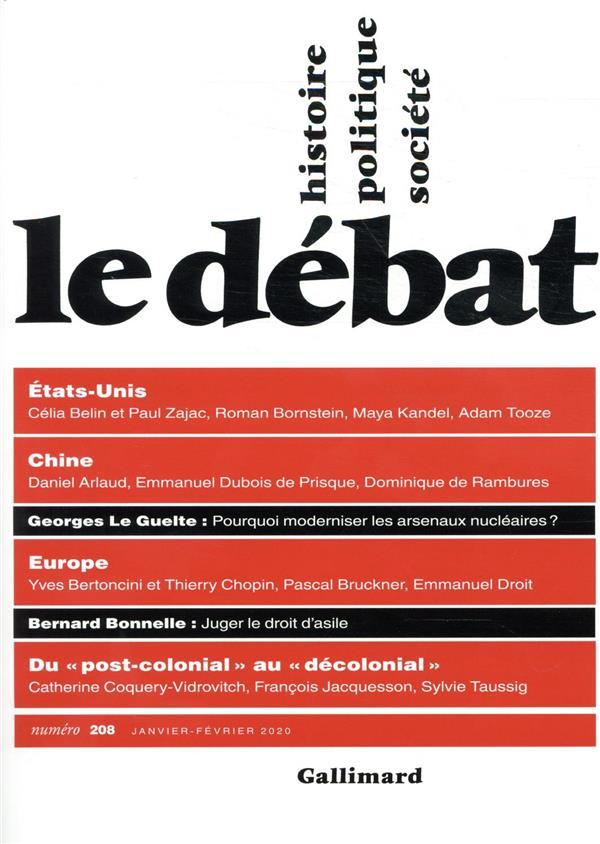 Revue le debat n.208 ; le debat
