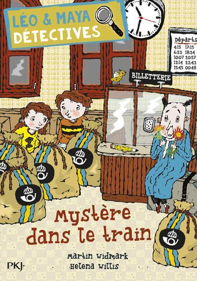 Léo & Maya, détectives t.11 ; mystère dans le train