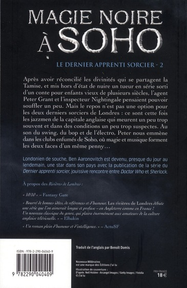le dernier apprenti sorcier t.2 ; magie noire à Soho