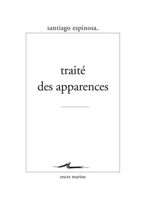 Traité des apparences