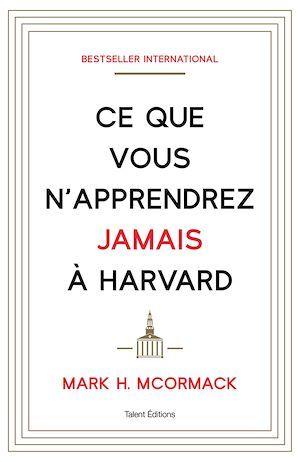 Ce que vous n'apprendrez jamais à Harvard