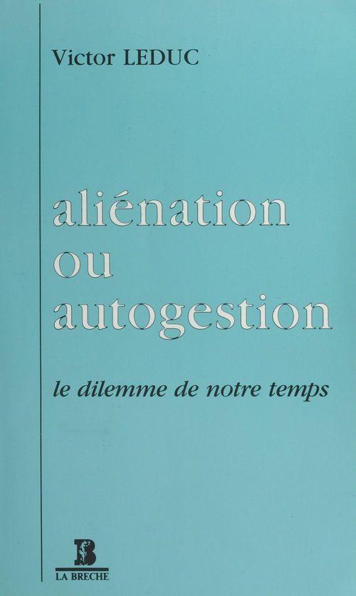 Alienation autogestion