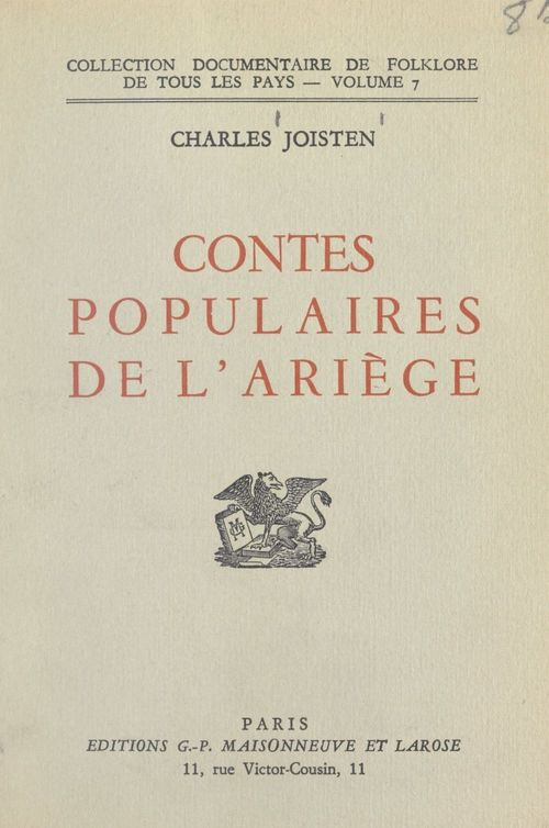 Contes populaires de l'Ariège