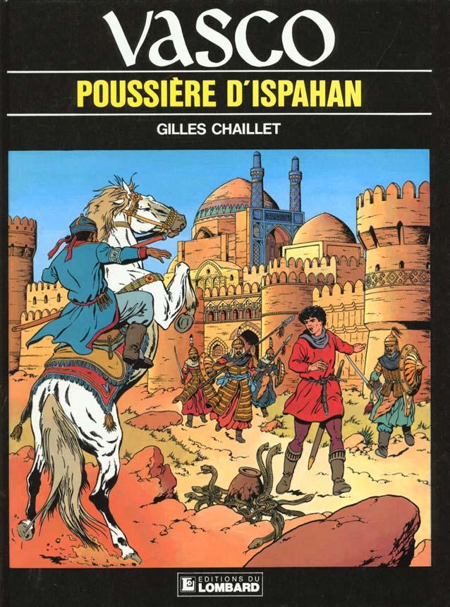 Vasco t.9 ; poussiere d'Ispahan