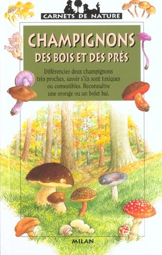 Les champignons des bois et des pres