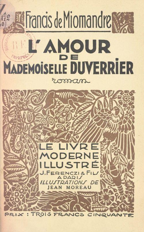L'amour de Mademoiselle Duverrier