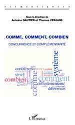 Vente Livre Numérique : Comme, comment, combien  - Antoine Gautier - Thomas Verjans