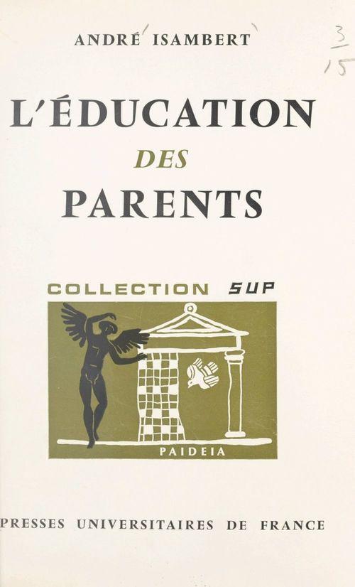 L'éducation des parents