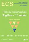 Algebre, 1ere Annee