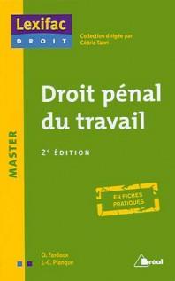 droit pénal du travail (2e édition)