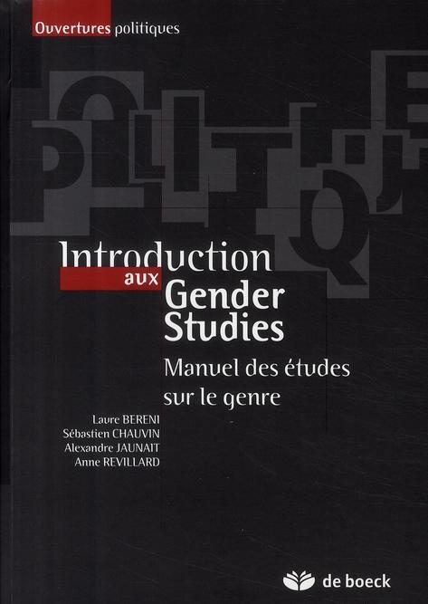Introduction aux Gender Studies ; manuel des études sur le genre