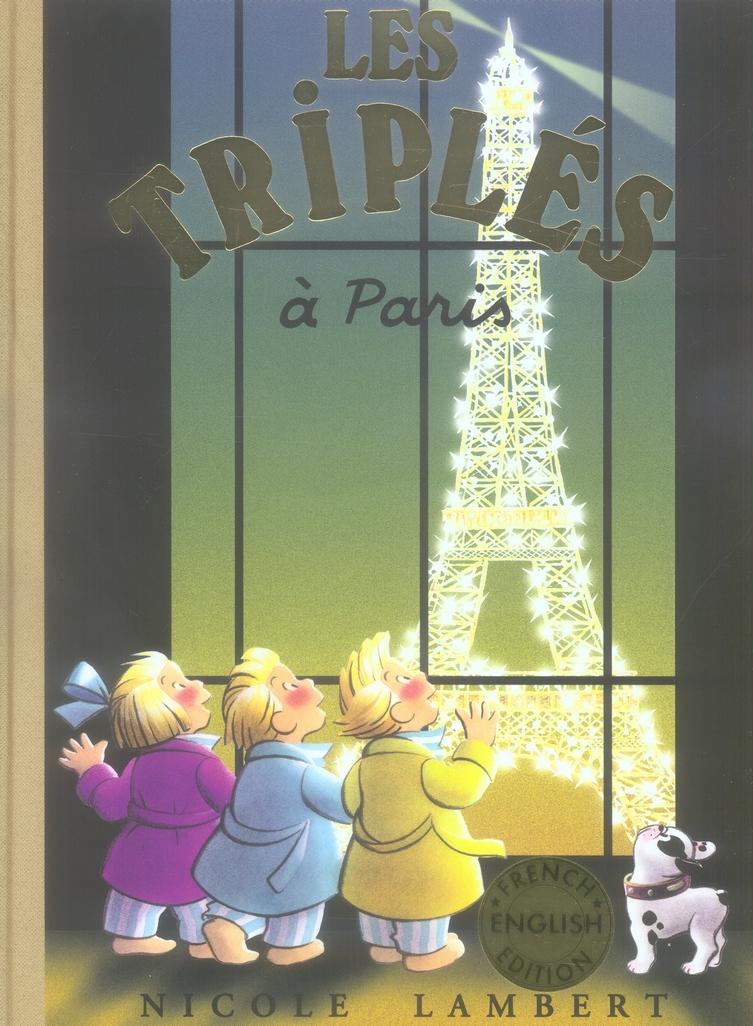 Les Triplés T.12 ; les Triplés à Paris