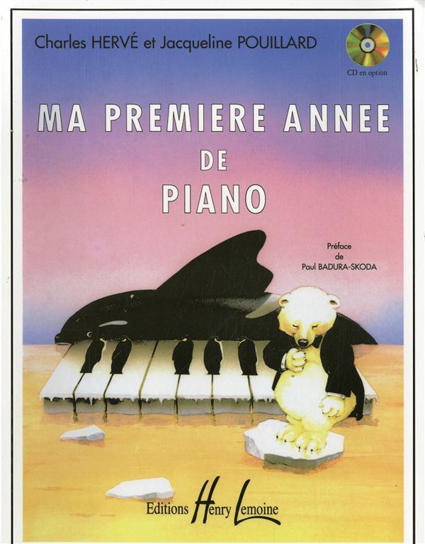 Herve Pouillard Ma Premiere Annee De Piano