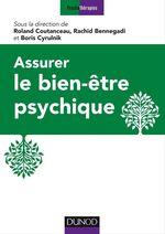 Vente Livre Numérique : Assurer le bien-être psychique  - Rachid Bennegadi