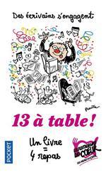 Couverture de 13 à table !