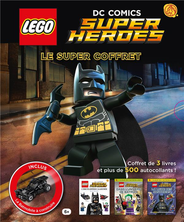 Lego DC comics - super heroes ; le super coffret