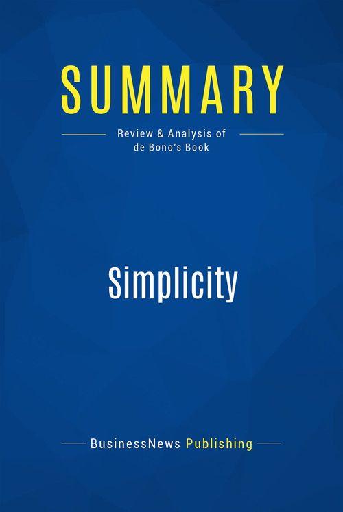 Summary: Simplicity
