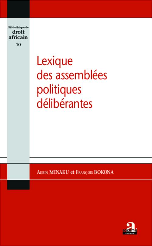 Lexique des assemmblées politiques délibérantes