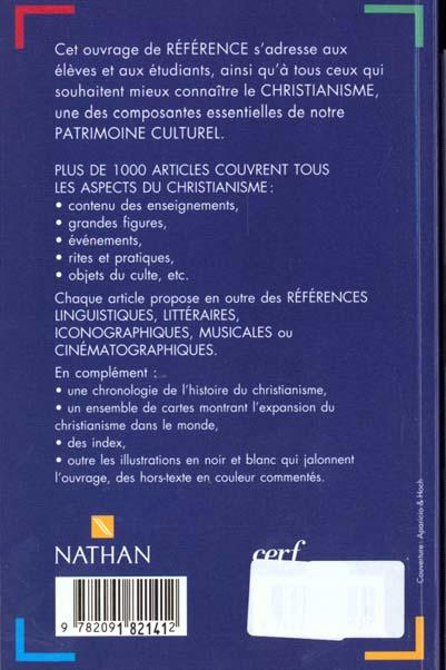 Dictionnaire du christianisme broche