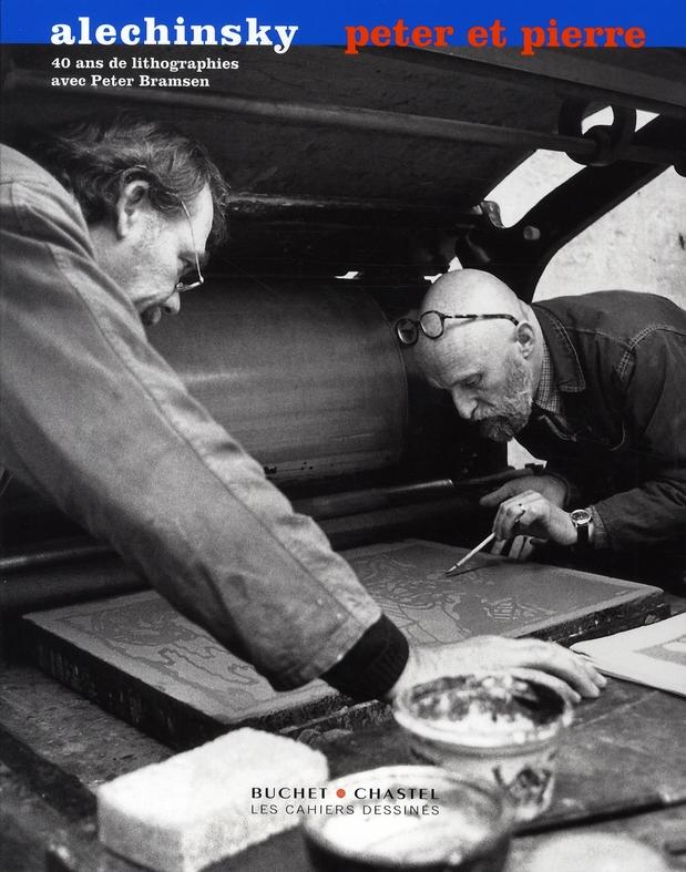 peter et pierre ; 40 ans de lithographie