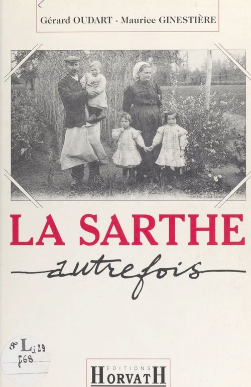 Sarthe autrefois (reimpression)