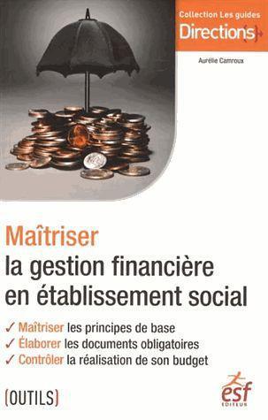 Maîtriser la gestion financière