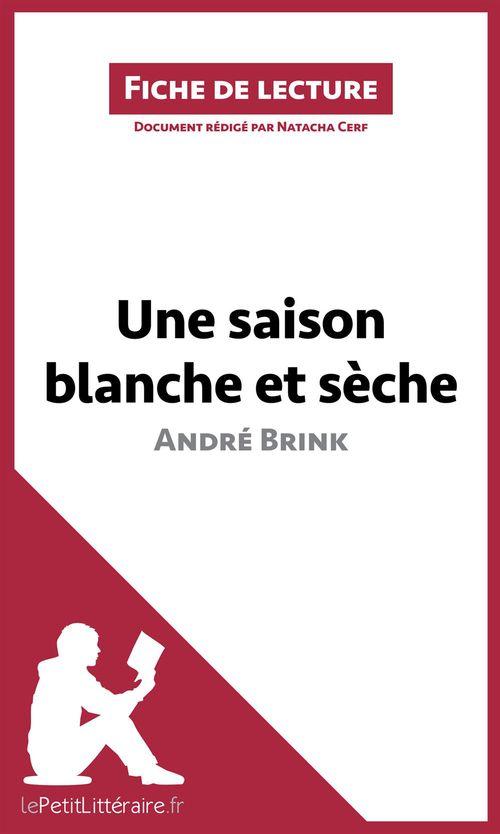 Analyse ; une saison blanche et sèche d'André Brink