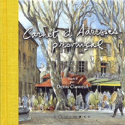 Carnet d'adresses provençal