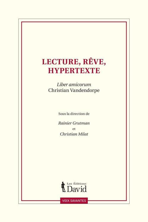 Lecture, rêve, hypertexte
