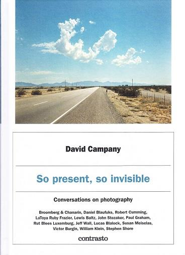 So present, so invisible ; conversations on photography