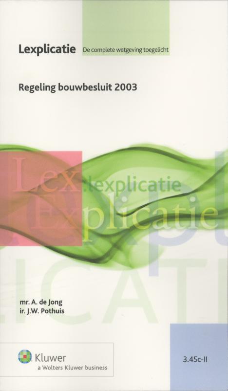 Regeling bouwbesluit 2003