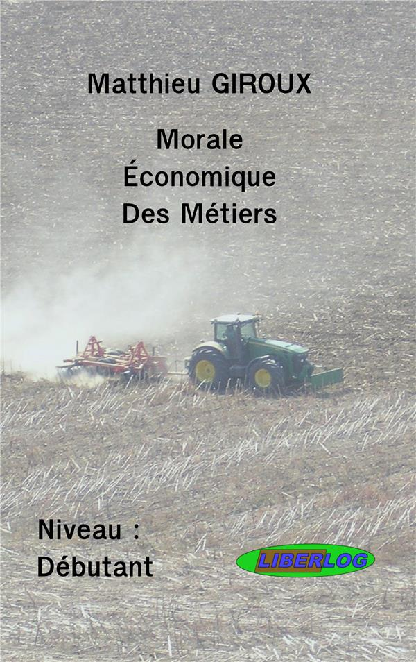 Morale économique des métiers