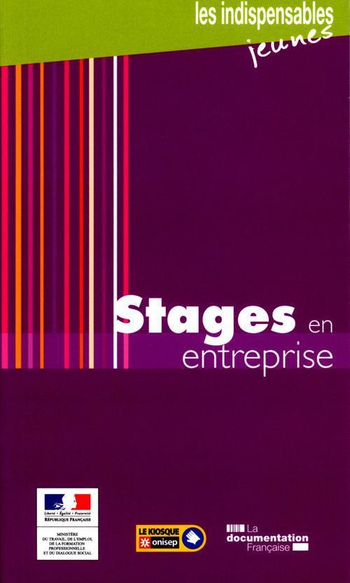 Stages En Entreprise (5e Edition)