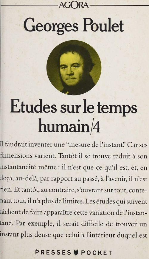 etudes sur le temps humain t.4
