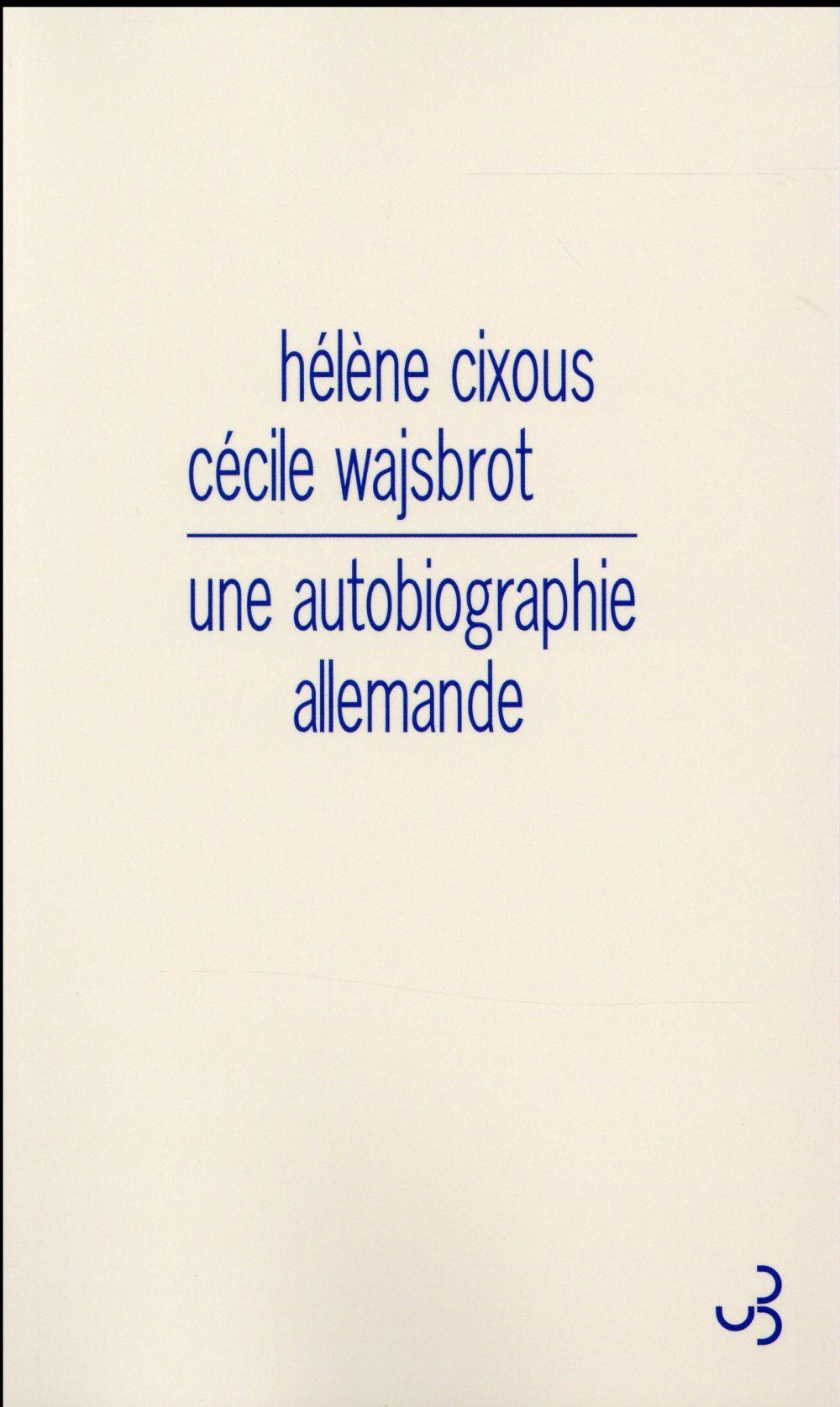Une autobiographie allemande