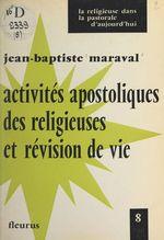 Activités apostoliques des religieuses et révision de vie