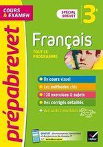 Vente Livre Numérique : Prépabrevet Français 3e Brevet 2022  - Louise Taquechel - Christine Formond