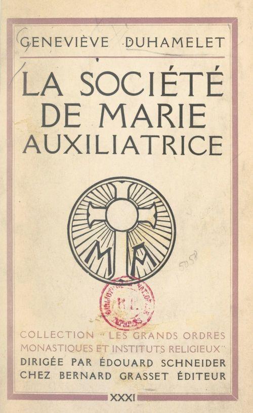 La société de Marie Auxiliatrice