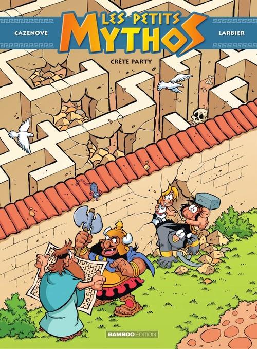 Les Petits Mythos t.11 ; Crète party