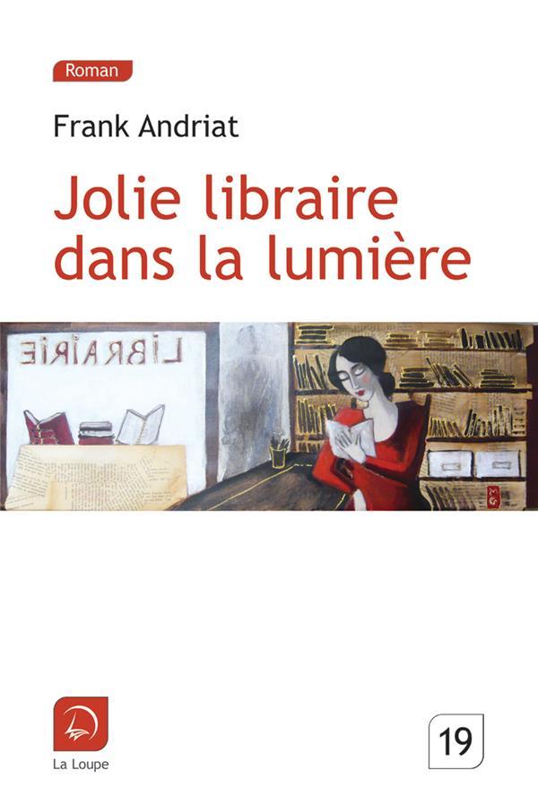 Jolie libraire dans la lumière