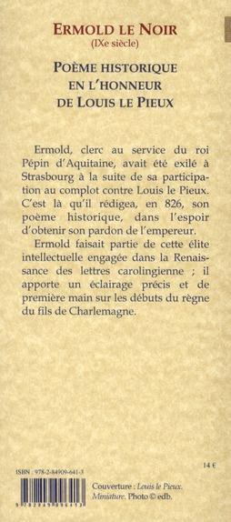 Poème historique en l'honneur de Louis le Pieux (826)