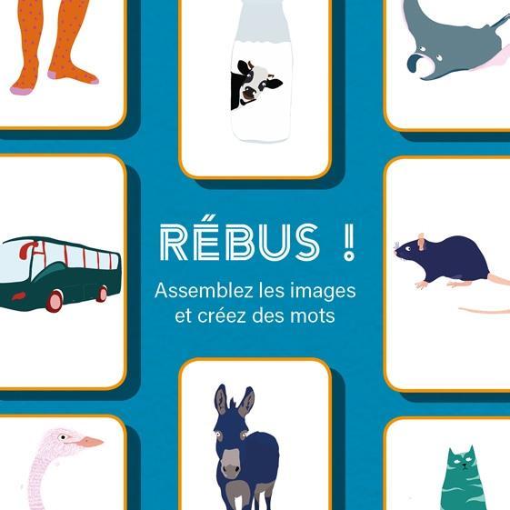 Rébus ! ; assemblez les images et créez des mots