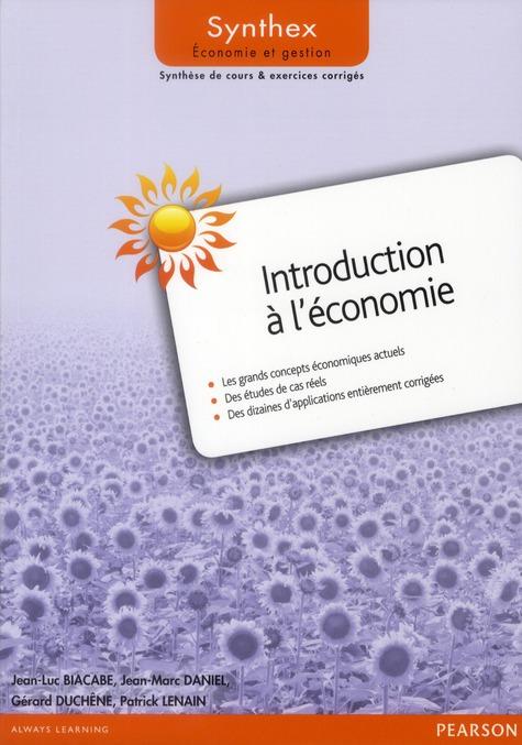 SYNTHEX ; introduction à l'économie